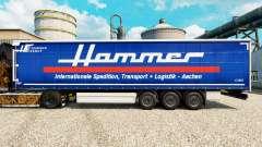 La piel de Martillo Grupo en semi para Euro Truck Simulator 2