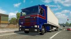 Una colección de camiones de transporte para el tráfico de v1.5 para Euro Truck Simulator 2