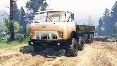 MAZ-515Р 8x8 v2.0 para Spin Tires