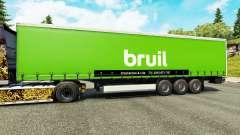 La piel Bruil en semi para Euro Truck Simulator 2