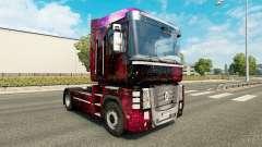 Weltall de la piel para Renault Magnum camión para Euro Truck Simulator 2