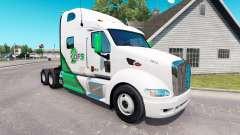 La piel DFS camión tractor Peterbilt 387 para American Truck Simulator
