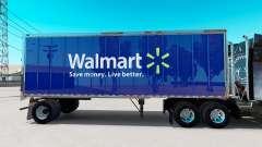 La piel de Walmart en pequeño remolque para American Truck Simulator