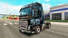 El inframundo de la piel para camiones Volvo para Euro Truck Simulator 2