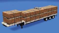 Baja barrido con la construcción de las cargas de v1.2 para American Truck Simulator