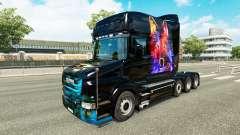 Lobo de la piel v2 para Scania camión T para Euro Truck Simulator 2