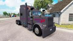 La piel Koliha de Camiones para el camión Peterbilt 389 para American Truck Simulator