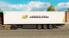La piel Pombalense para remolques para Euro Truck Simulator 2