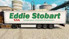 Eddie Stobart de la piel para remolques para Euro Truck Simulator 2