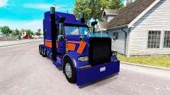 Rollin Transporte de la piel para el camión Peterbilt 389 para American Truck Simulator