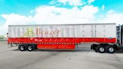 La piel Beazer Casas en una cortina semi-remolque para American Truck Simulator
