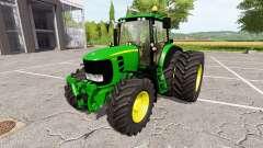 John Deere 7430 Premium v1.1 para Farming Simulator 2017