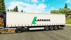 Lafarge piel para remolques para Euro Truck Simulator 2
