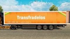 La piel Transfradelos para remolques para Euro Truck Simulator 2