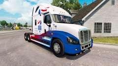 La piel de A. T. Un tractor Freightliner Cascadia para American Truck Simulator