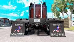 Guardabarros yo Apoyo a Madres Solteras v2.0 para American Truck Simulator