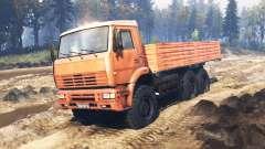 KamAZ-6522 v9.0 para Spin Tires