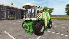 Krone BiG X 1100 bunker capacity para Farming Simulator 2017