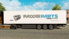 La piel de Paccar Parts para remolques para Euro Truck Simulator 2