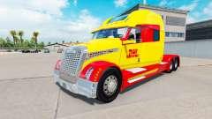 La piel de DHL para un camión Concepto de camión 2020 para American Truck Simulator