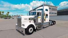 La piel de Escocia en el camión Kenworth W900 para American Truck Simulator
