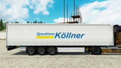 La piel Spedition Kollner en semi para Euro Truck Simulator 2