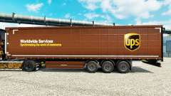 La Piel United Parcel Service Inc. en la semi para Euro Truck Simulator 2