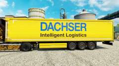 Dachser skin for trailers para Euro Truck Simulator 2