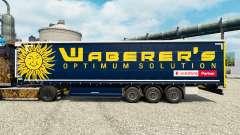 Waberers de la piel para remolques para Euro Truck Simulator 2