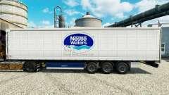 Nestle Aguas de la piel para remolques para Euro Truck Simulator 2