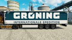 La piel Groening para remolques para Euro Truck Simulator 2