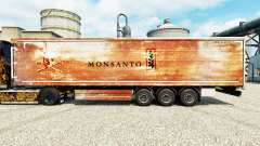 La piel de Monsanto para remolques para Euro Truck Simulator 2