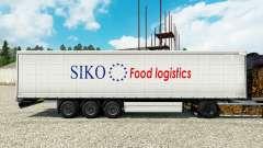 La piel Siko Logística de Alimentos para remolques para Euro Truck Simulator 2