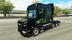La piel de Monster Energy v2 para camión Scania T para Euro Truck Simulator 2