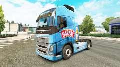 Harnés de la piel para camiones Volvo para Euro Truck Simulator 2