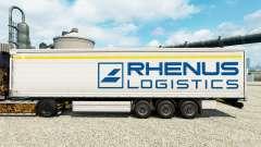 Rhenus Logistics piel para remolques para Euro Truck Simulator 2
