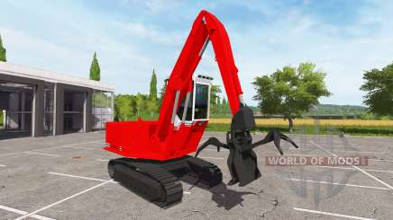 El auge de log loader para Farming Simulator 2017