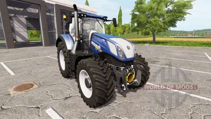New Holland T7.315 blue power para Farming Simulator 2017