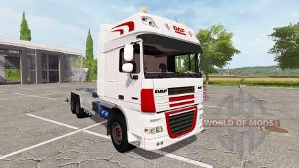 DAF XF container truck para Farming Simulator 2017