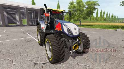 New Holland T7.290 red rikie para Farming Simulator 2017