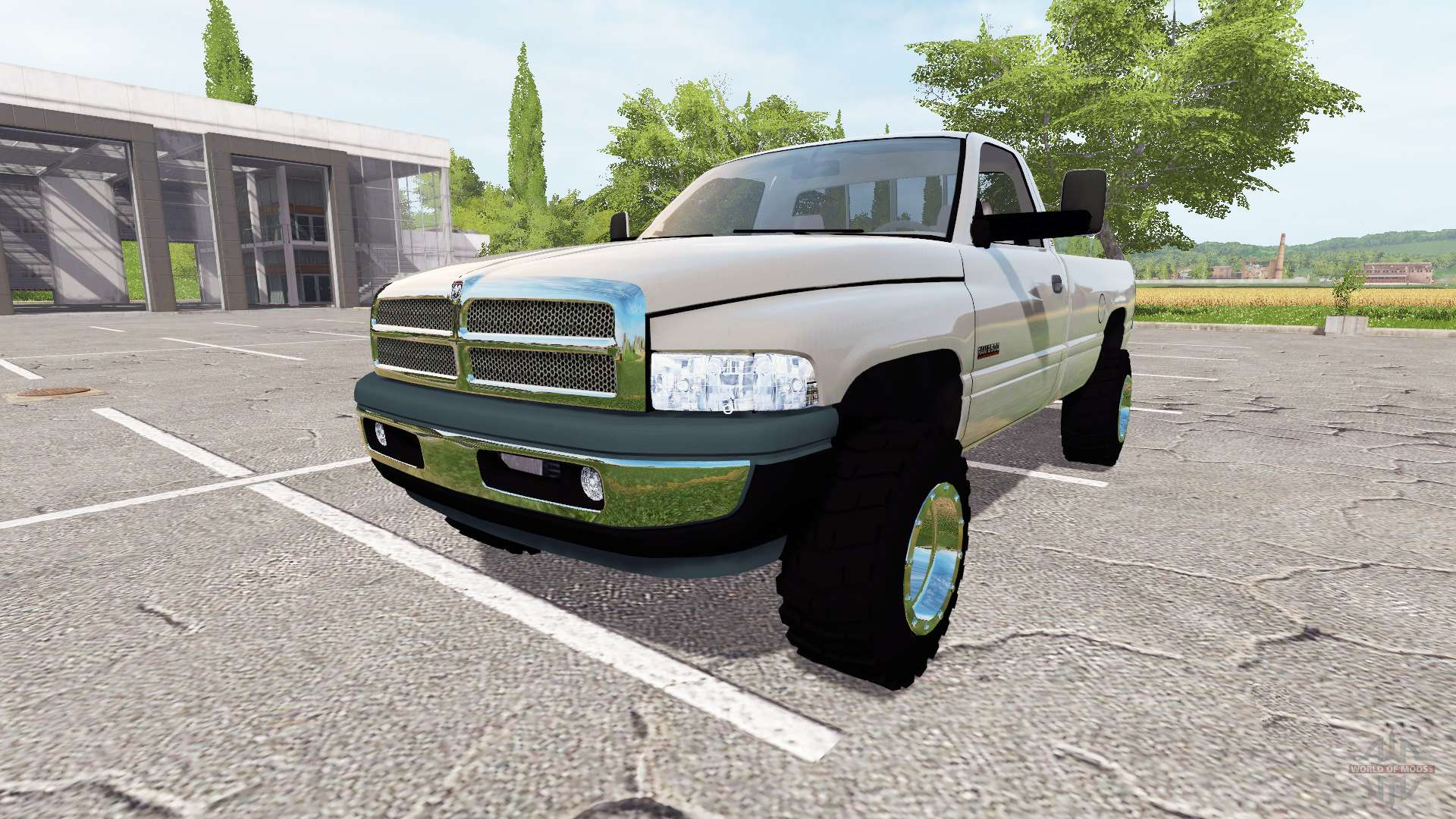 Dodge Ram 2500 Cummins Turbo Diesel V2 0 Para Farming Simulator 2017