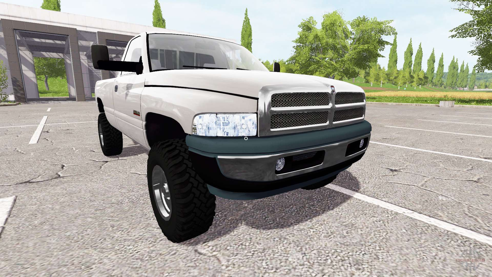 Dodge Ram 2500 Cummins Turbo Diesel Para Farming Simulator 2017