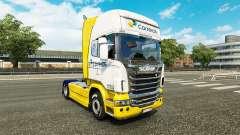 Correios de la piel para Scania camión para Euro Truck Simulator 2