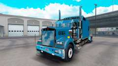 Kenworth W900B Long v1.3 para American Truck Simulator