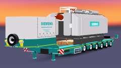 Bajo el barrido con la carga del transformador Siemens para Euro Truck Simulator 2
