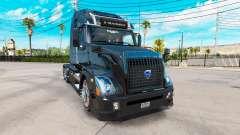 Volvo VNL 670 black para American Truck Simulator