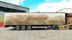 La piel Spedition Scherer en una cortina semi-remolque para Euro Truck Simulator 2