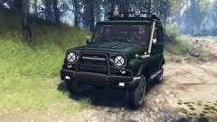 UAZ-315195 hunter v3.0 para Spin Tires