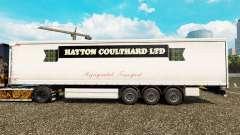 La piel Hayton Coulthard Ltd en cortina semi-remolque para Euro Truck Simulator 2