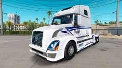 La piel en los Escenarios Trucking LLC camión tractor Volvo VNL 670 para American Truck Simulator